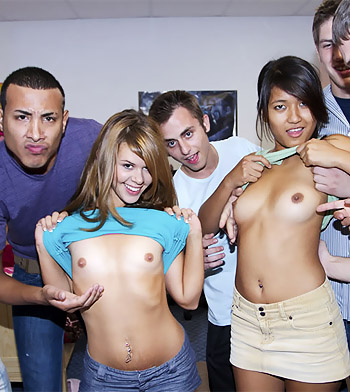 College rules sex party