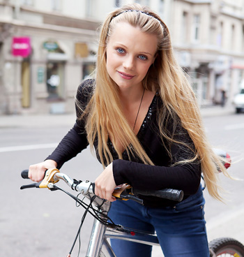 Hairy pussy bike