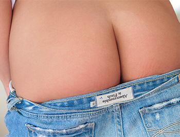 Catie minx jean shorts